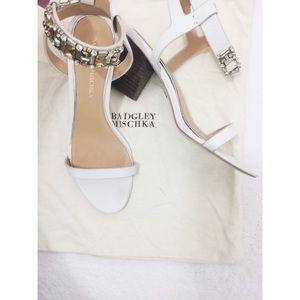 Badgley Mischka Block Heel Sandals